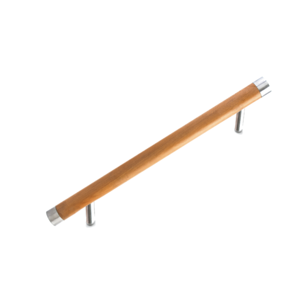 tirador madera inox forjas