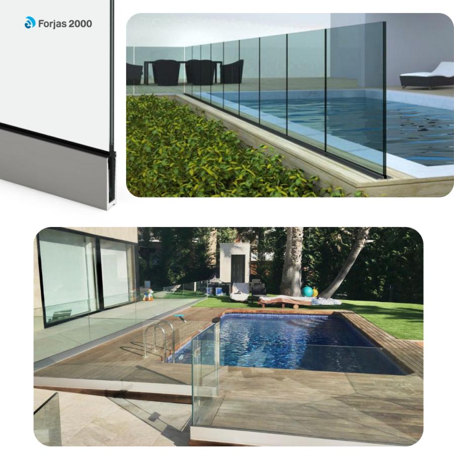 piscinas acero inoxidable perfil suelo